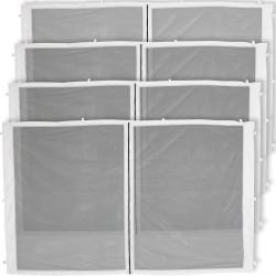 4-Panel-12 Foot Straight Leg Zippered Mesh Kit
