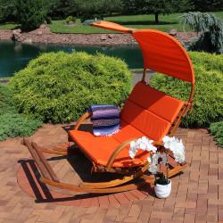 Burnt Orange with Canopy