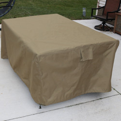 Square Protective Outdoor Patio Dining Table Cover,