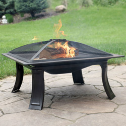 26-Inch Portable Square Campfire On-The-Go Fire Pit
