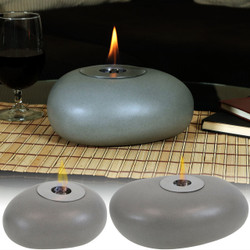 Sunnydaze Decorative Rock Bio Ethanol Tabletop Fireplace