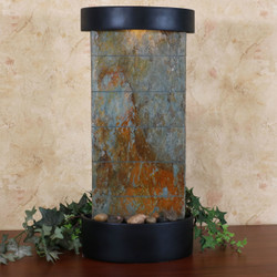 Slate Indoor Wall or Tabletop Water Fountain