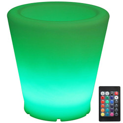LED Flower Pot with Remote Control