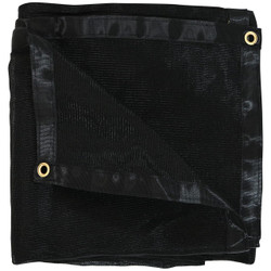 Black Mesh Tarp, Folded