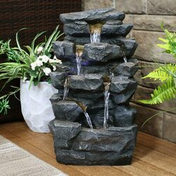 Resin And Fiberglass Fountains Lightweight Fountains