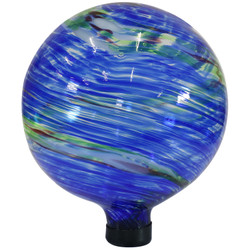 Sunnydaze Northern Lights Outdoor Garden Gazing Globe, 10-Inch