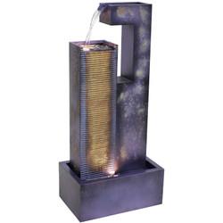 Cascading Tower Outdoor Metal Fountain