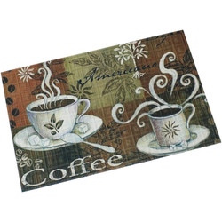 "Sunnydaze Kitchen Floor Mat - 23"" L x 35"" W - Coffee"