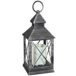 Yorktown Indoor Decorative LED Candle Lantern, Single
