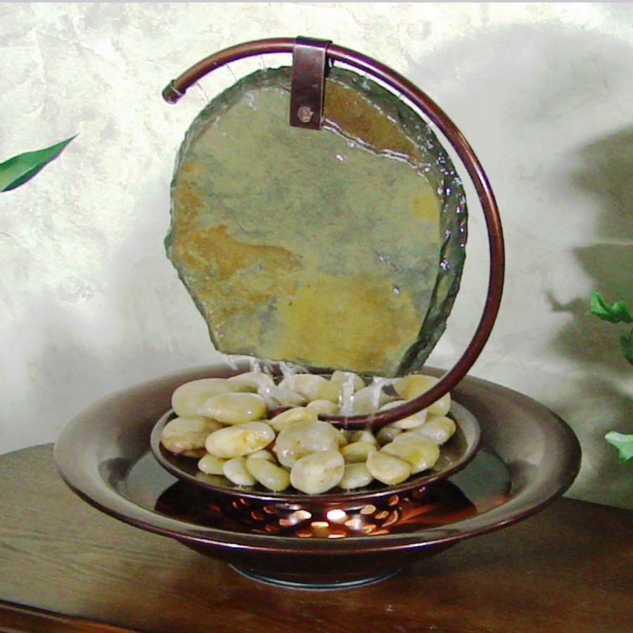 Bluworld Mini Moonshadow Tabletop Fountain
