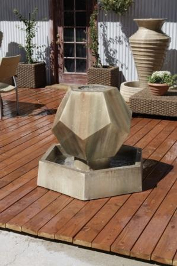 Twelve-Side Outdoor Fountain
