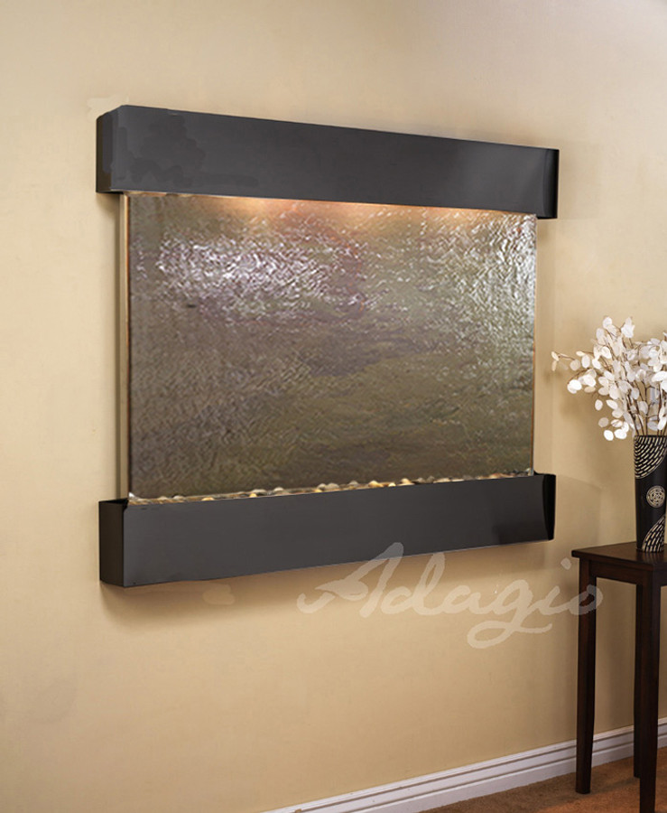 Blackened Copper, Feathestone Slate, Square Edges