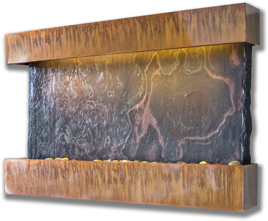 Horizon Falls Copper Patina Frame