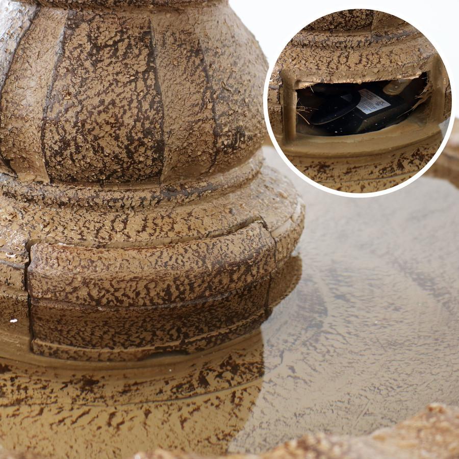 Closeup of Pump Cover