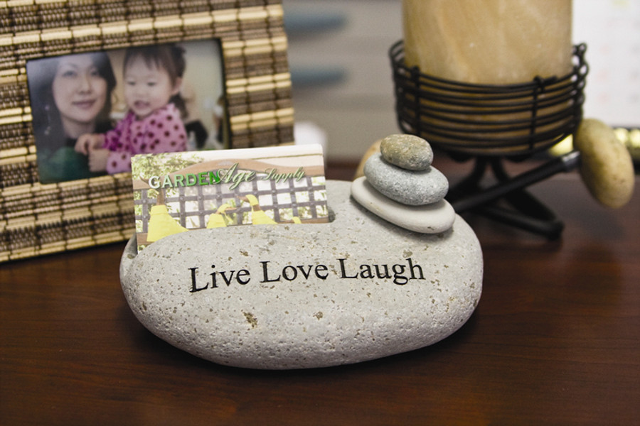 Live Love Laugh with cairn