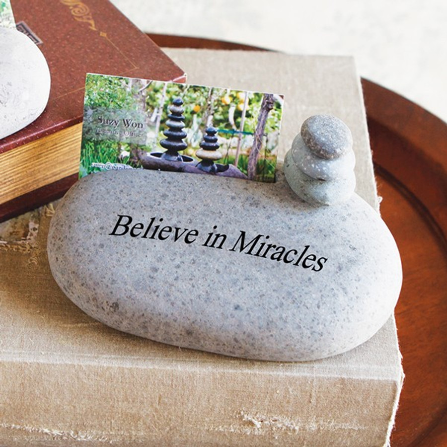 Believe in Miracles with cairn