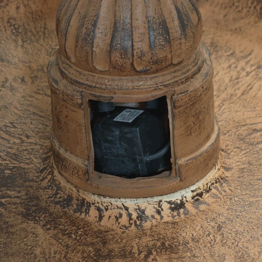 Closeup of Door Housing Pump