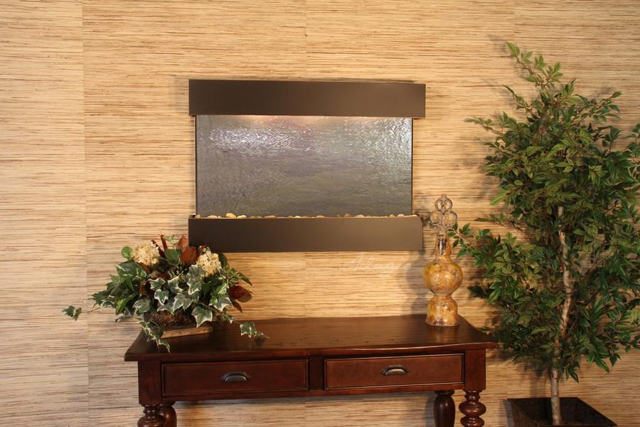 Blackened Copper & Rajah Featherstone Slate