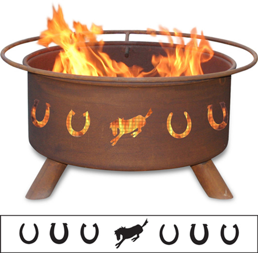 Horseshoes Fire Pit