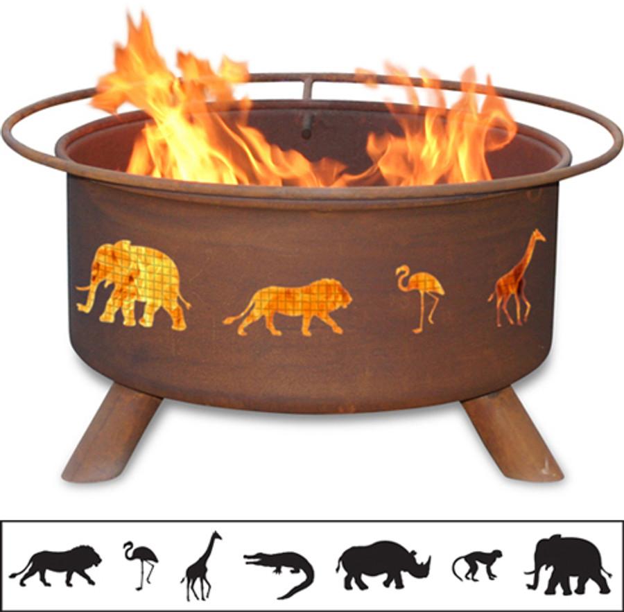 Safari Fire Pit