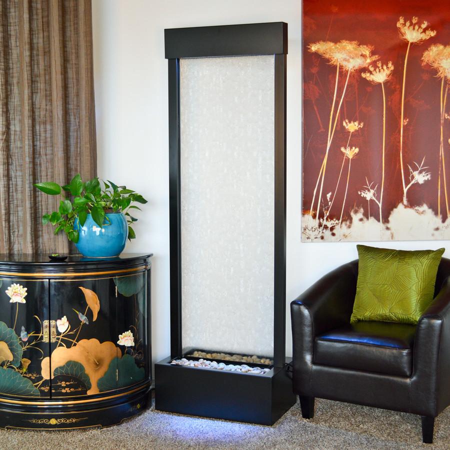 Bluworld Black Onyx Gardenfall w/ Clear Glass