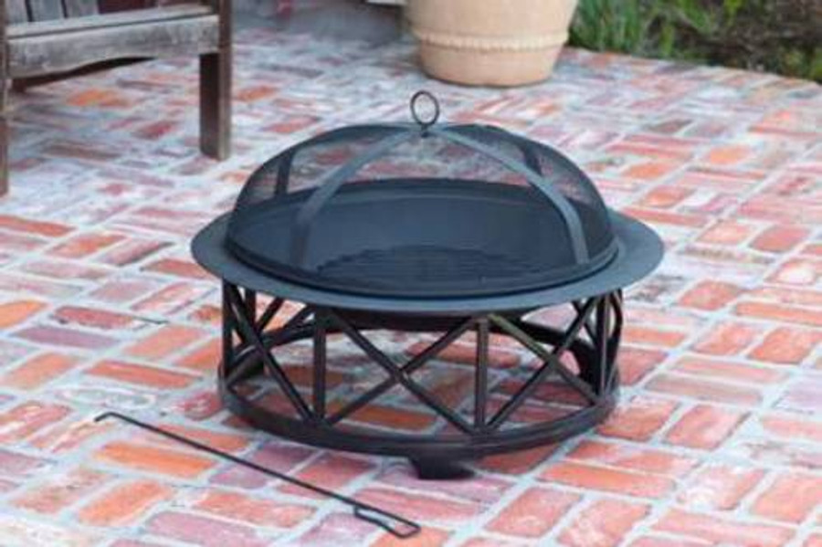 """Portsmouth Fire Pit - 30"""""""