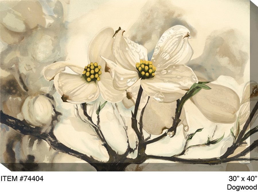 Dogwood Canvas Wall Art