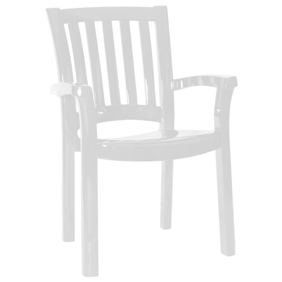 The Sunshine Resin Dining Armchair (Set of 4)