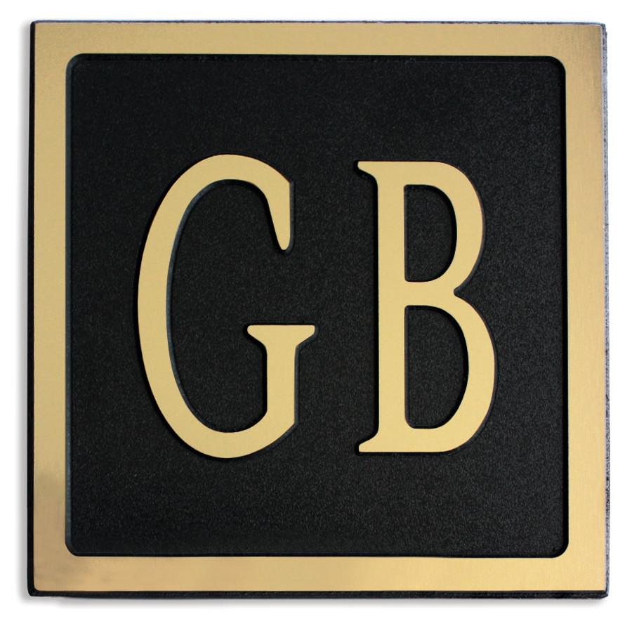 Gold on Black