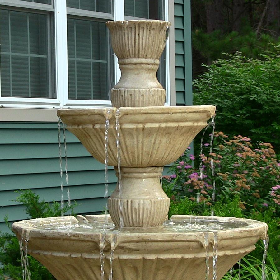 Closeup of Top of Fountain