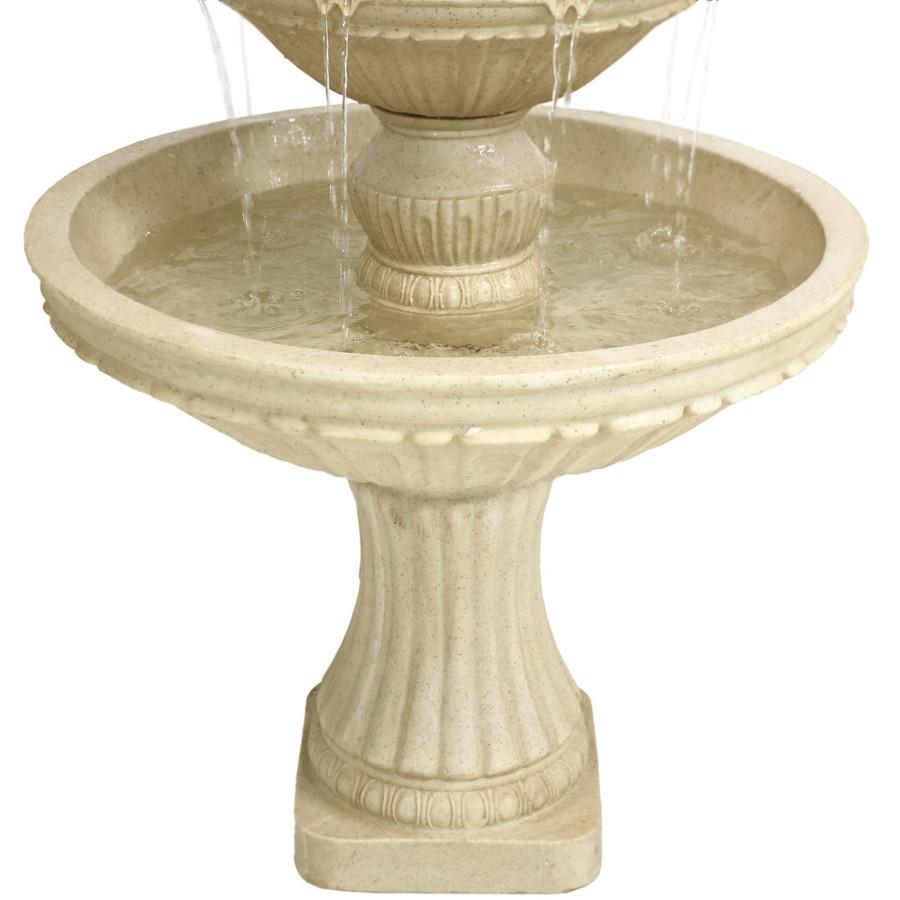 Closeup of Bottom of Fountain