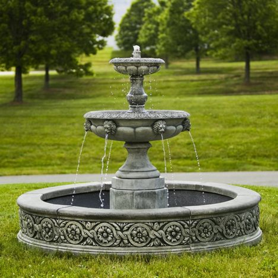 Parisienne Two Tier Fountain by Campania International