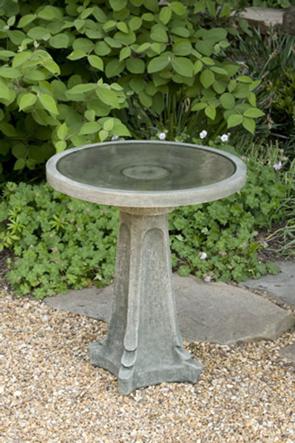 Campania International Galway Birdbath