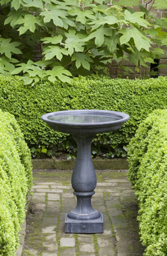 Williamsburg Candlestand Birdbath by Campania International