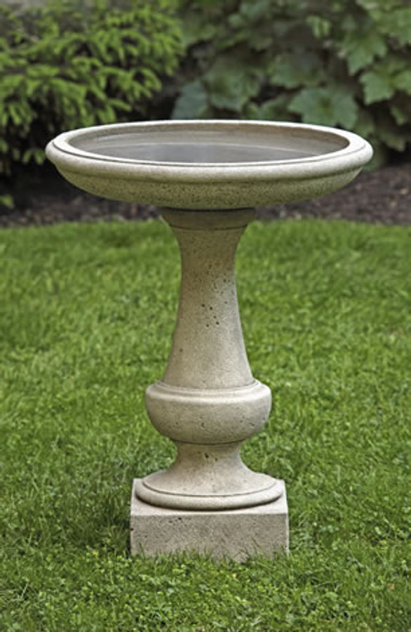 Campania International Chatham Birdbath