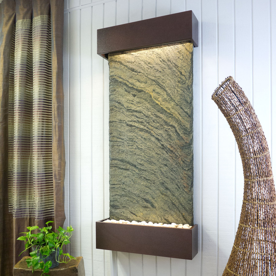 Jeera Slate with Copper Vein Frame