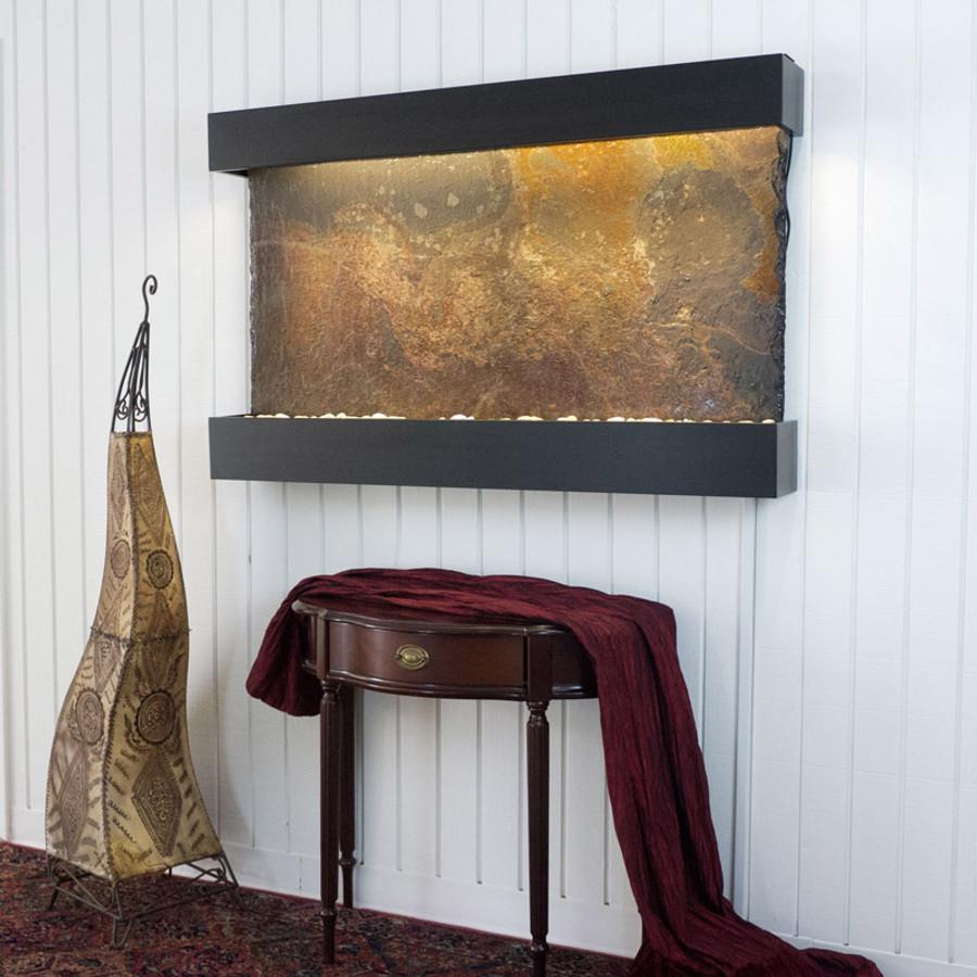 Rajah Slate Black Frame