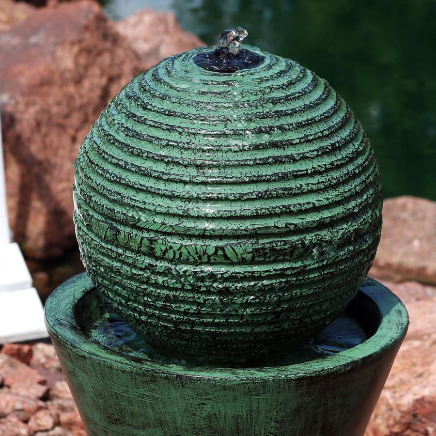 Top Closeup of Fountain