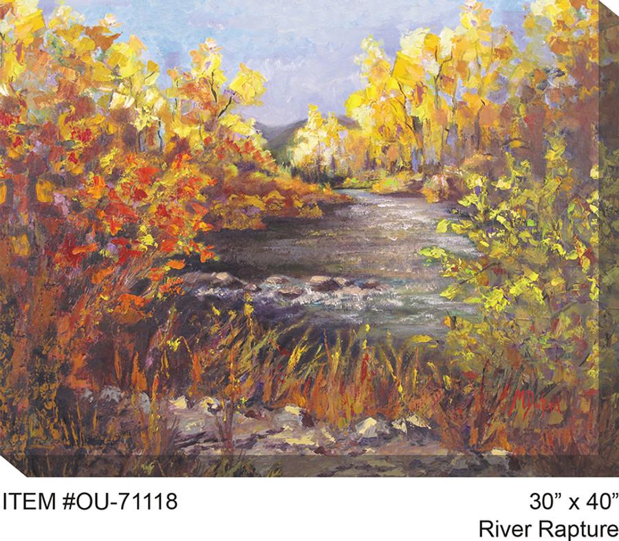 River Rapture Canvas Wall Art