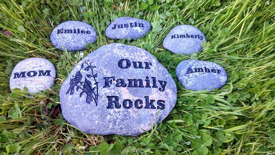Family Rock Garden