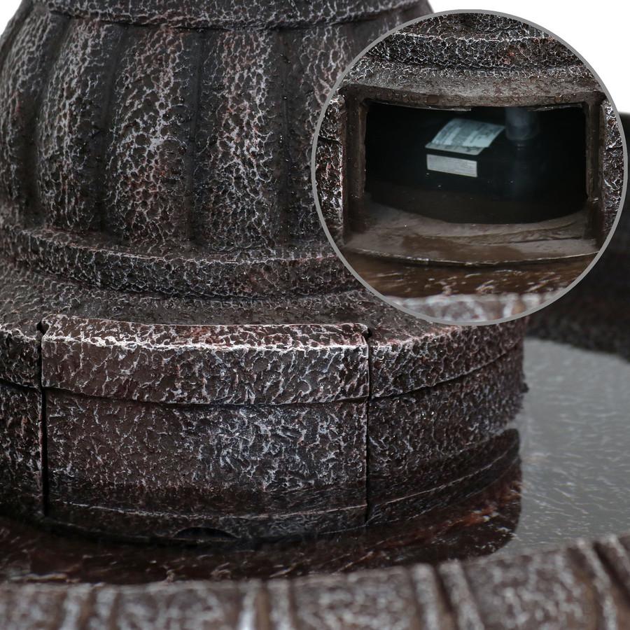 Closeup of Panel Housing Pump