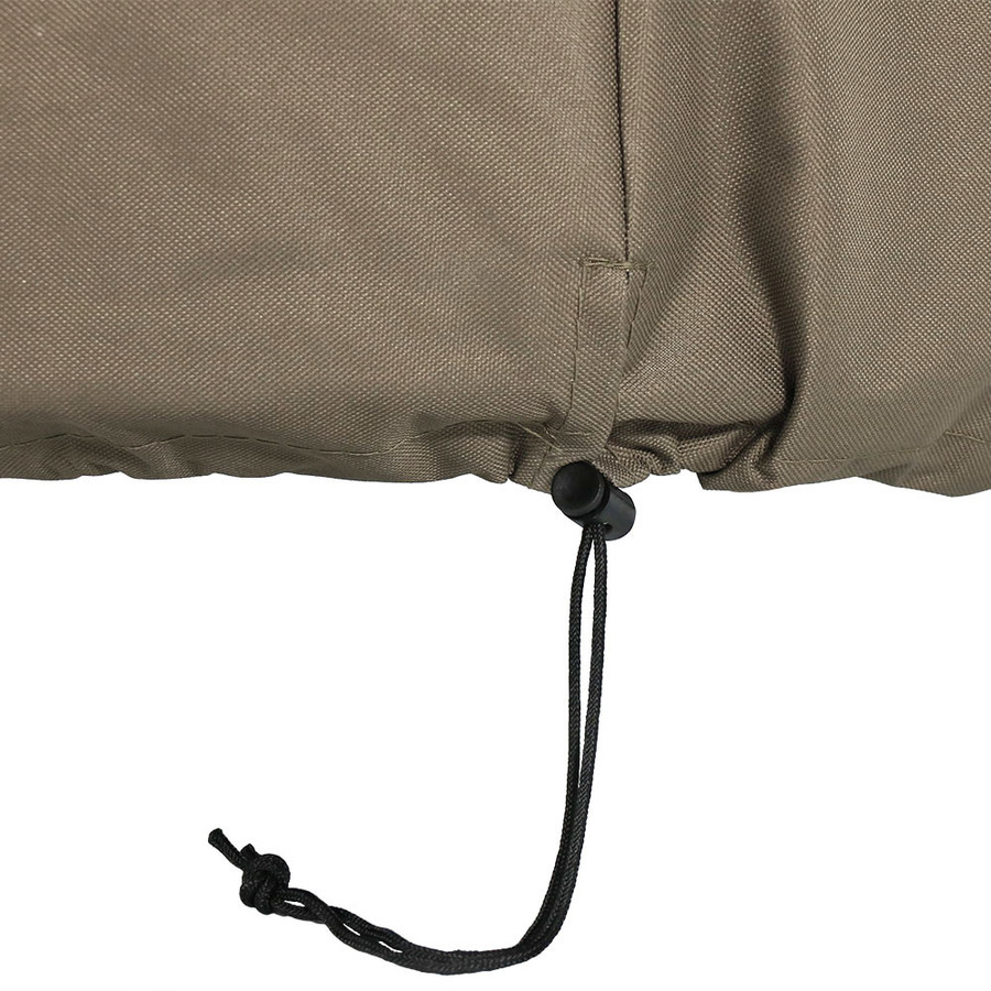 Closeup of Khaki Toggle