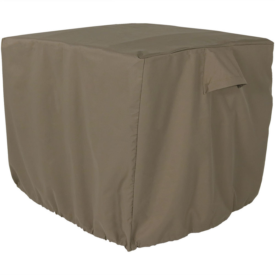 Sunnydaze Heavy-Duty Square Air Conditioner Cover, 34 X 30 Inch, Color Options Available