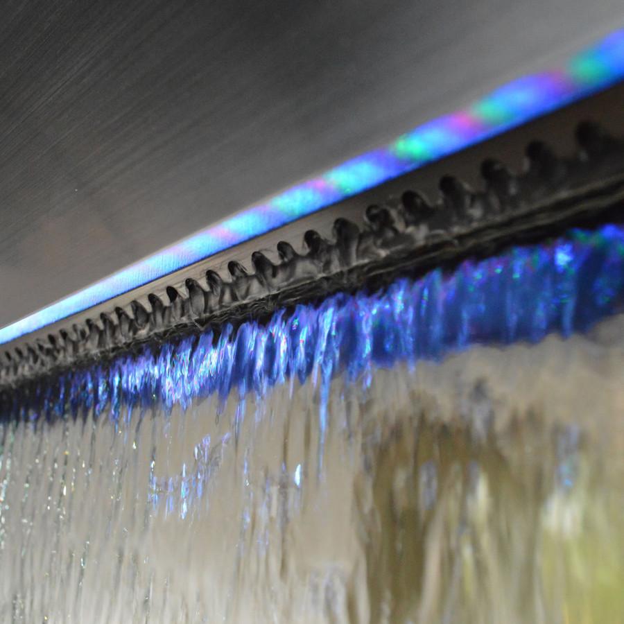 Bluworld Stainless Steel Gardenfall Fountain w/ Silver Mirror