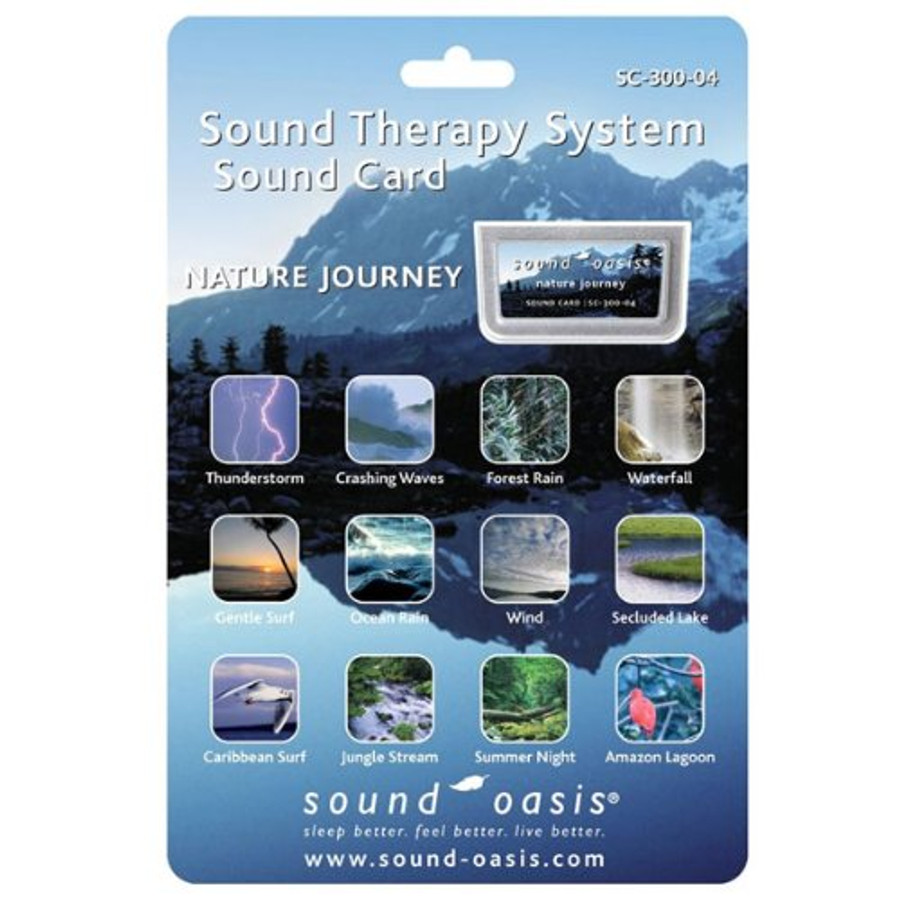 Sound Oasis Nature's Journey Sound Card for S-650 Sound Machine