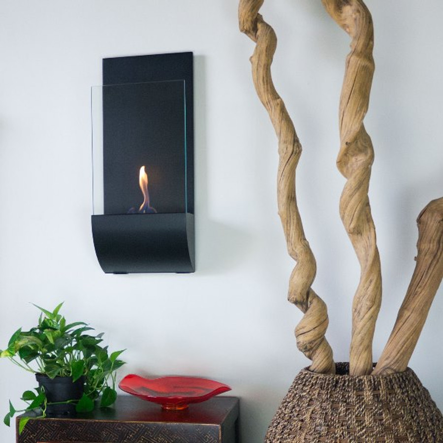 Torcia Wall Mounted Bio Ethanol Fuel Fireplace Water Fountains