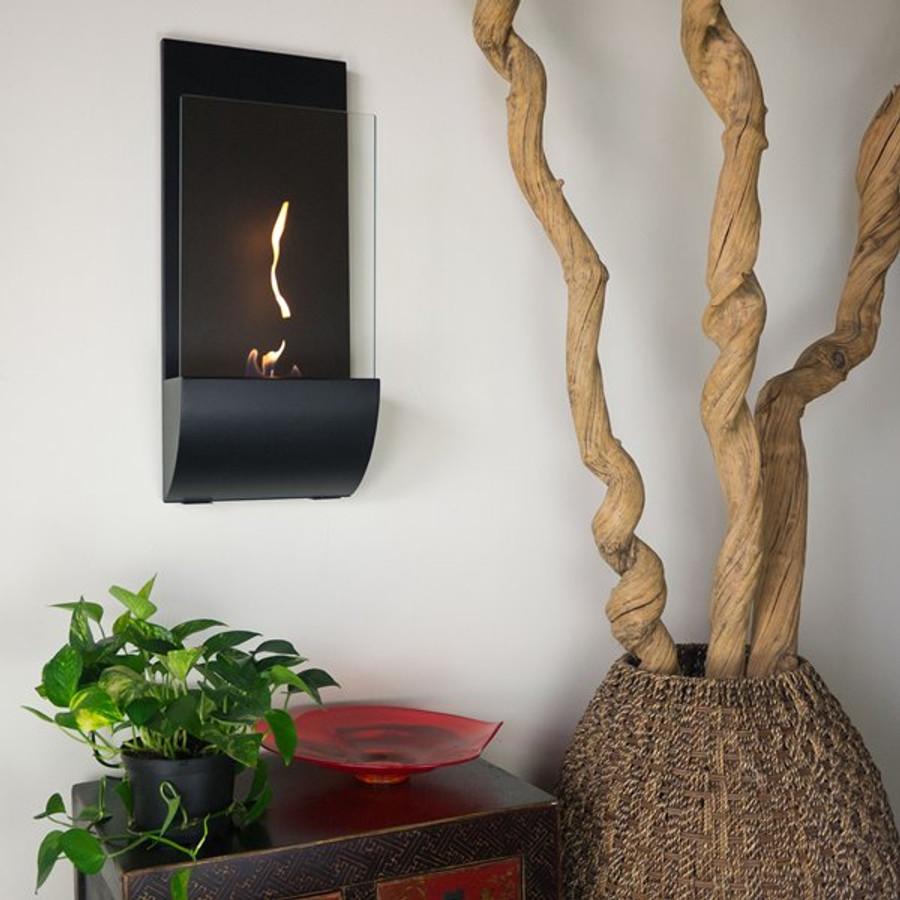 Torcia Wall Mounted Bio Ethanol Fuel Fireplace