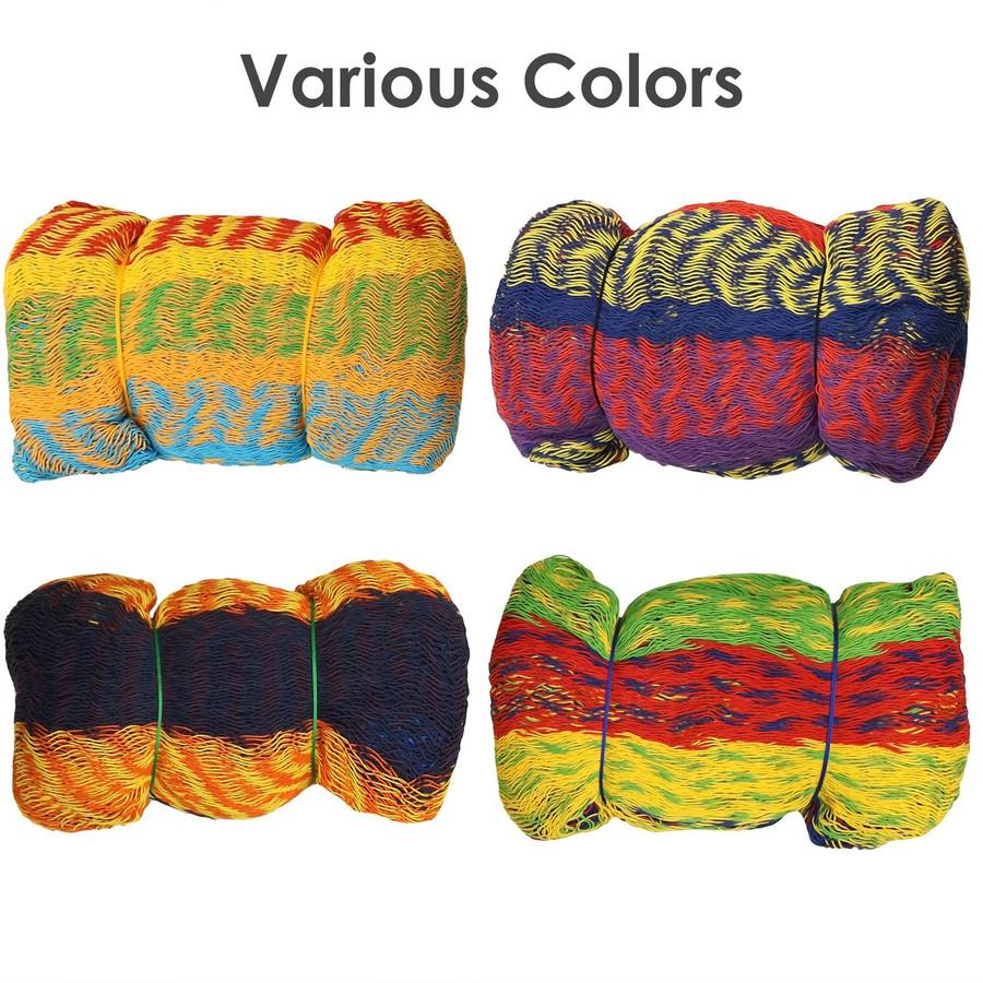 Multicolored hammock color varies