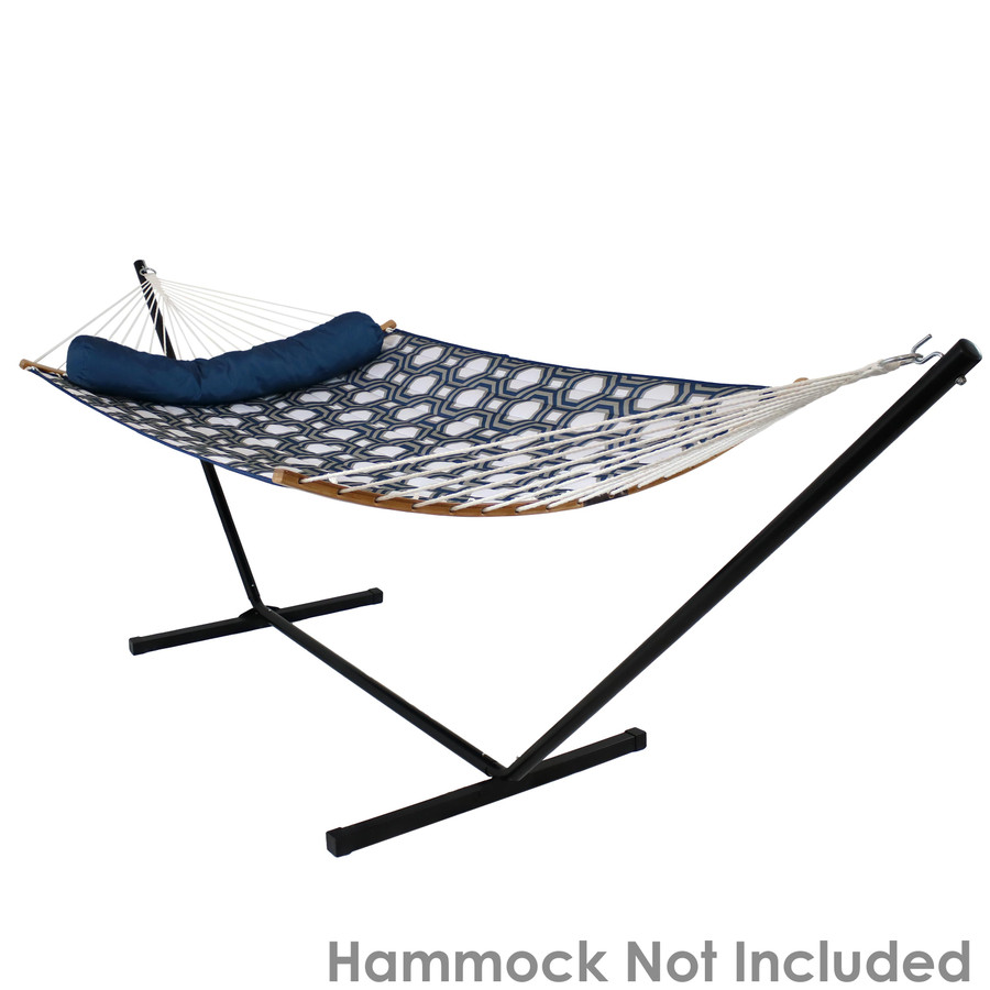 Black Stand with Spreader Bar Hammock (Hammock Not Included)