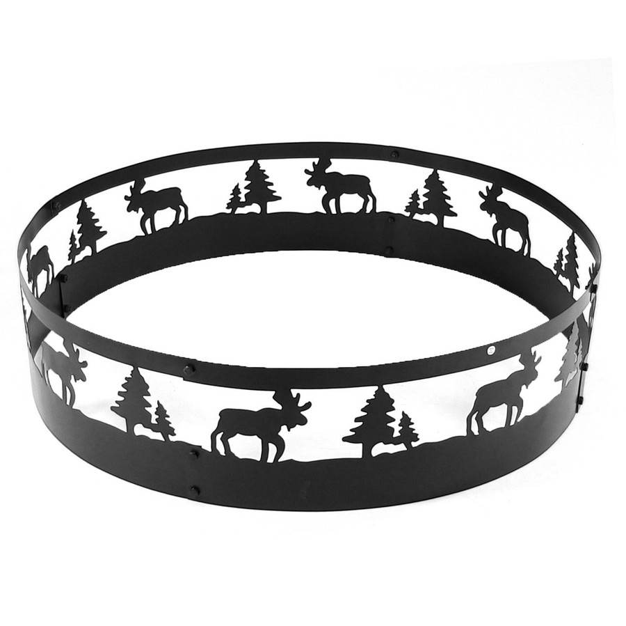 Wild Moose Campfire Ring